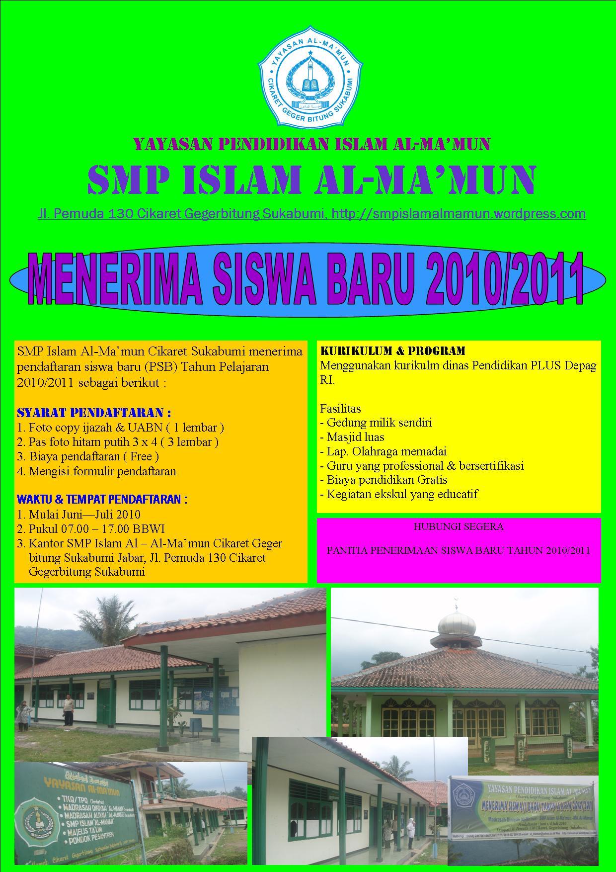 Sudah terdaftar dan mendapat ijin operasional dari Bupati Sukabumim